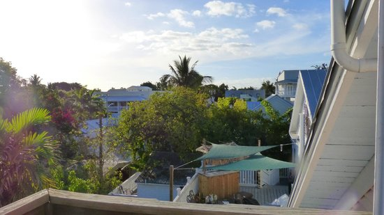 Key West Bed and Breakfast: view over town