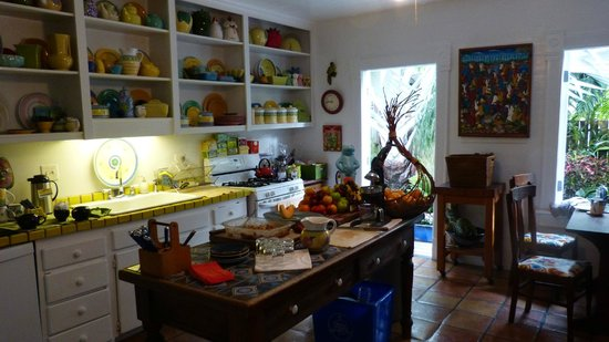 Key West Bed and Breakfast: kitchen of earthly delights!