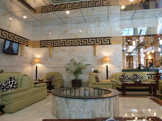 Golden Tulip Thanyah Hotel Apartments : Reception Area