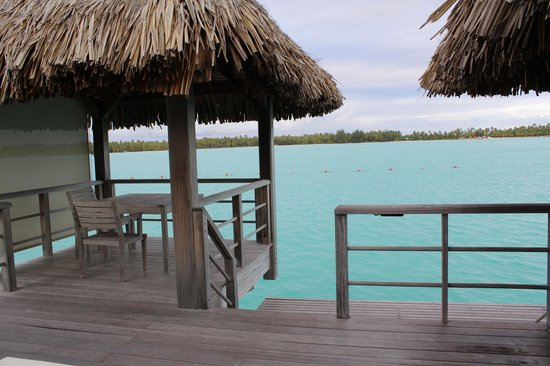 The St. Regis Bora Bora Resort: view from our deck