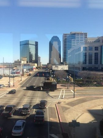 Hilton Shreveport: view from skywalk