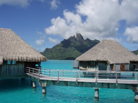 The St. Regis Bora Bora Resort: view from some more expensive suites