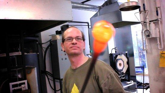 Atelier les Trois Corbeaux : Jeff, un des propriétaires
