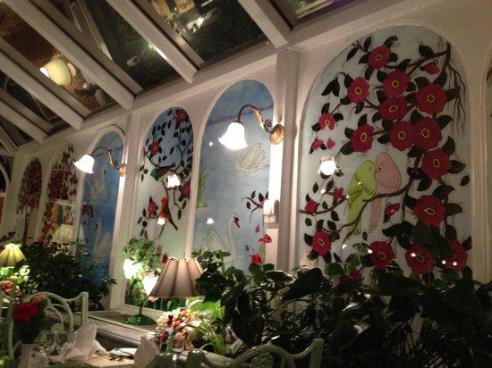 Hotel Yesil Ev: Restaurant Sera