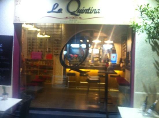 La Quintina: Quintina wine bar