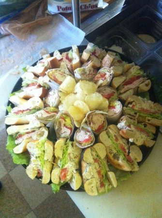 Bagel Time Cafe : Party Tray!!!!