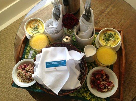 Glendeven Inn Mendocino: Breakfast - Outstanding!