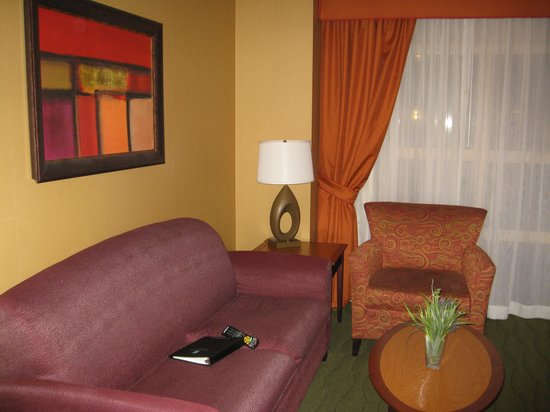 Embassy Suites by Hilton East Peoria - Hotel & RiverFront Conf Center: The room