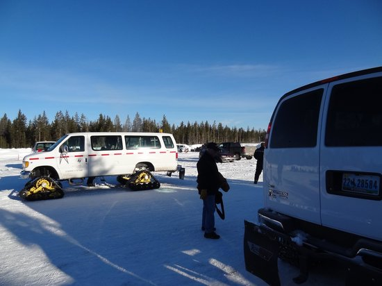 Old Faithful Snowmobile Tours - Day Tours: Snow coach