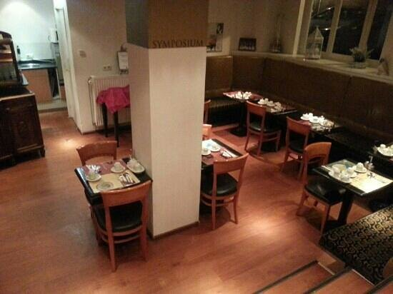 Sandton Hotel de Filosoof - TEMPORARILY CLOSED: ontbijt zaal