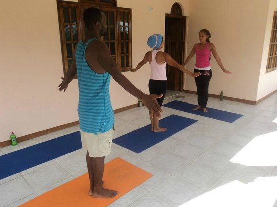 Dolphin Bay Yoga Guest House: Private Yoga Sessions
