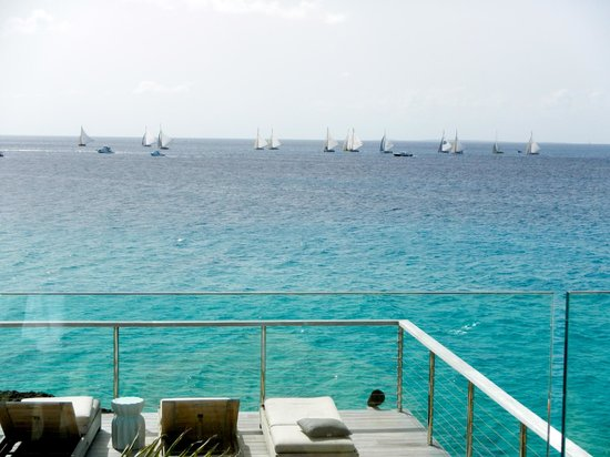 Four Seasons Resort and Residences Anguilla: Sail boat race!