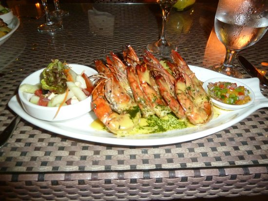 Al Fresco Bar and Restaurant: Prawns