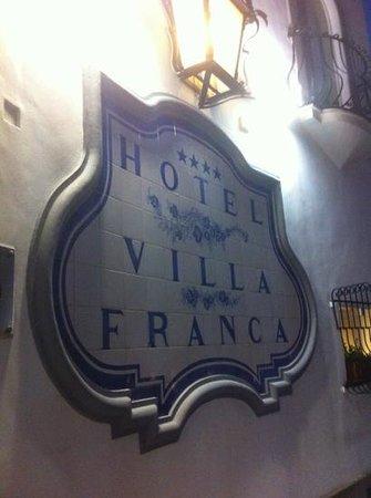 Hotel Villa Franca: ingresso