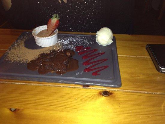 Ponsbourne Park Hotel and Restaurant: A taste of chocolate