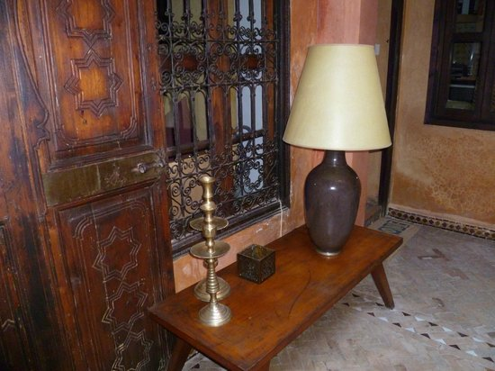 Riad Dar Attajmil: The pretty decor