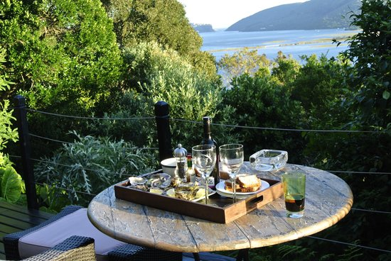 Kanonkop Guest House: Welcome oysters