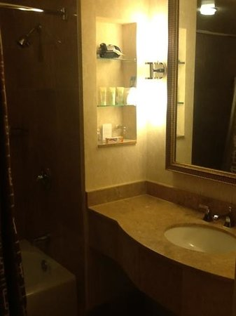 Grand Hyatt Atlanta in Buckhead: the bathroom