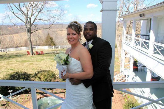 Inn at Meander Plantation: Wedding pic