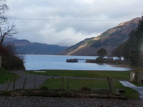 Rowardennan Hotel: the view from our room