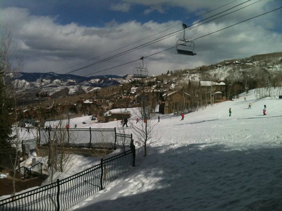 The Westin Snowmass Resort: Ski in/out