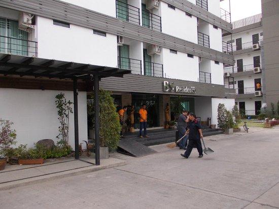 BS Residence Suvarnabhumi: Reception entrance