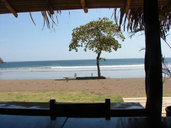 El Sitio: Venao beach from the restaurant