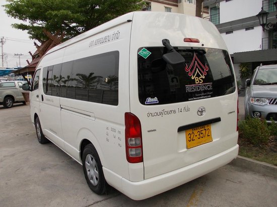 BS Residence Suvarnabhumi: Hotel Transport