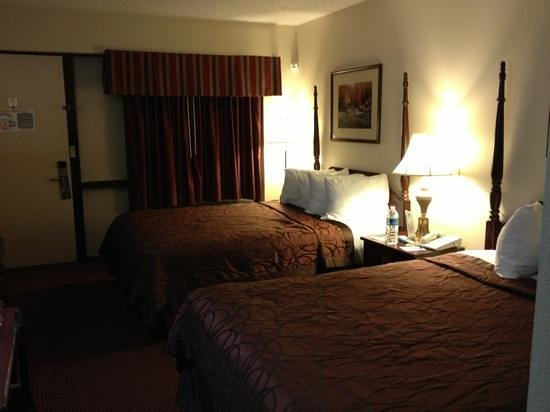 BEST WESTERN Bordentown Inn: Queen dbl bed room