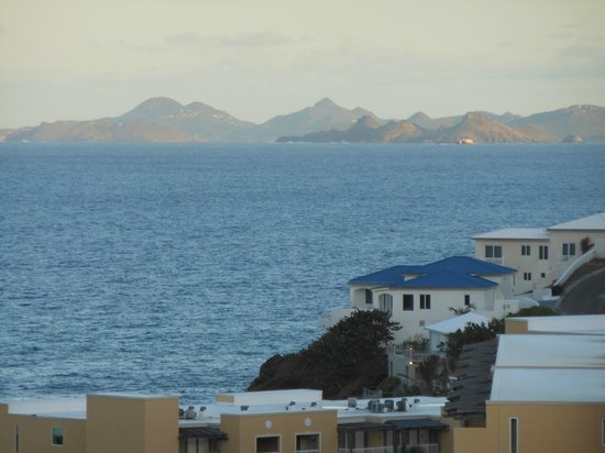 Princess Heights Hotel: View of St. Barth from our room. (Westin too)