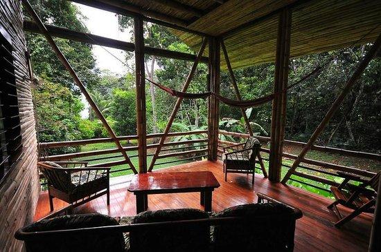 Casa Bambu Resort: Pina porch by guest James McCraw