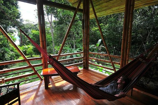 Casa Bambu Resort: Relaxing at Casa Pina by guest James McCraw