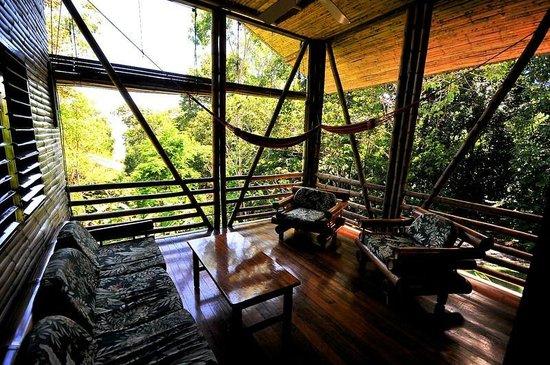 Casa Bambu: Casa Pina porch by guest James McCraw