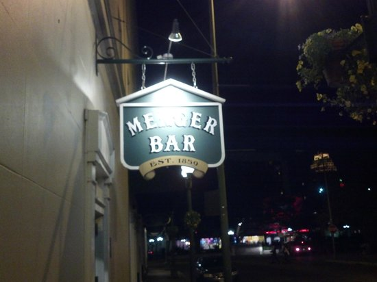 Menger Bar: Here it is. Come on in!