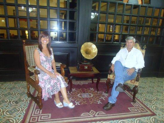 Gran Hotel Costa Rica: En el lobby