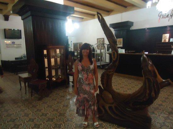 Gran Hotel Costa Rica: El mostrador