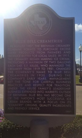 Blue Bell Creameries : Blue Bell Ice Cream Factory