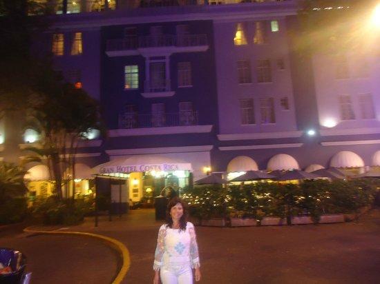 Gran Hotel Costa Rica: La fachada del hotel