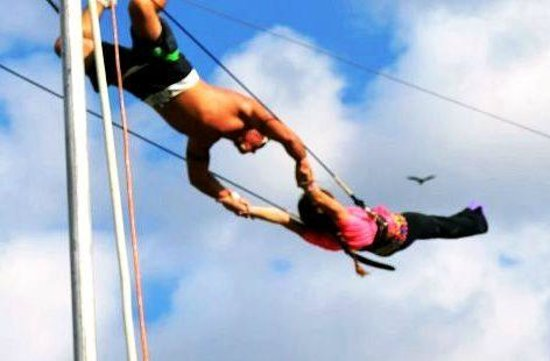 Royal Palm Beach, فلوريدا: Flying Trapeze