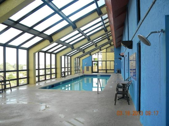 Indoor Hot Tub Pool 7th Floor Picture Of The Caravelle Resort Myrtle Beach Tripadvisor