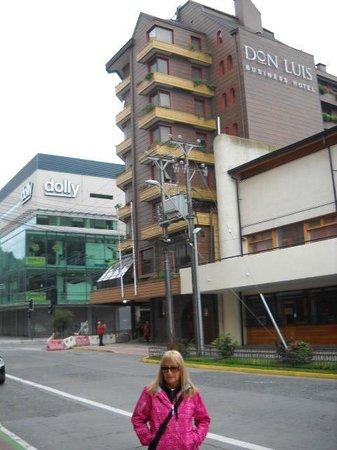 Hotel Don Luis: vista desde la calle