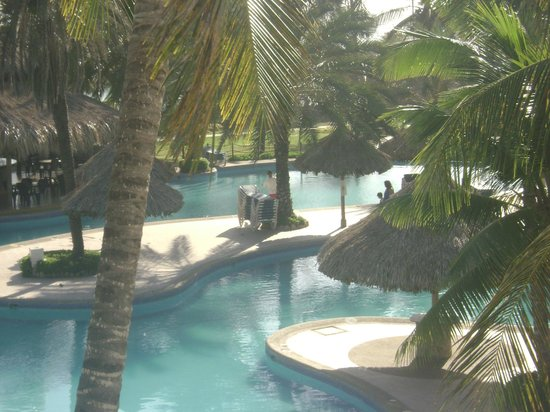 Isla Caribe Beach Hotel: view from balcony