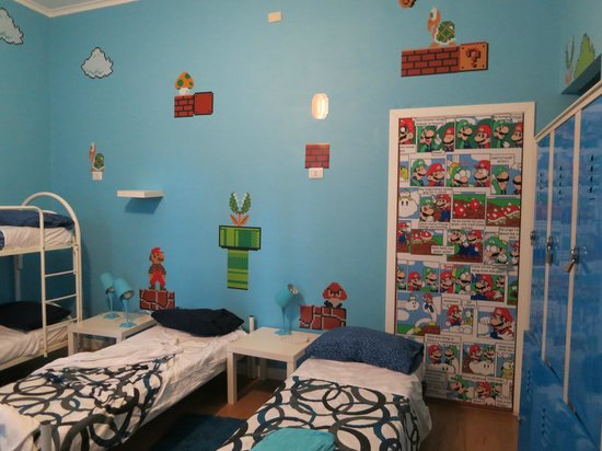 Comics guesthouse: Mario Room