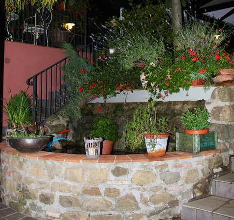 Locanda Zacco: La fontana