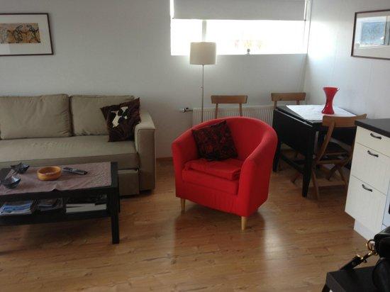 Baenir & Braud: Apartment living room