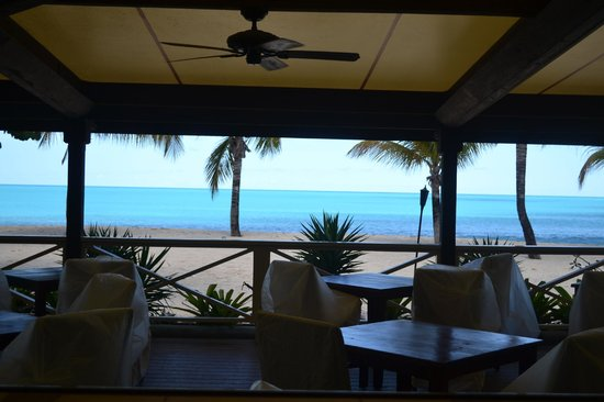 Galley Bay Resort : view from the restaurant