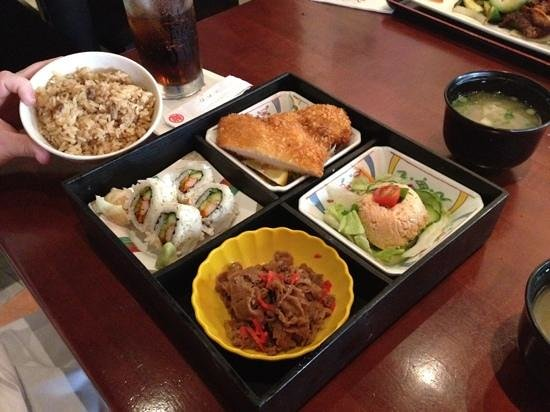 Tokyo Dining: bento box