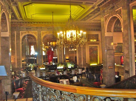 Kimpton Sir Francis Drake Hotel Lobby
