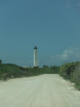 Alicia's Bed & Breakfast: Light house at Punta Sur