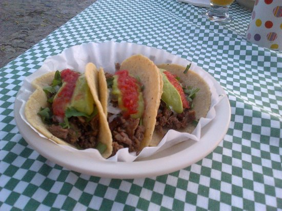 Tacos on the Street: Just tacos